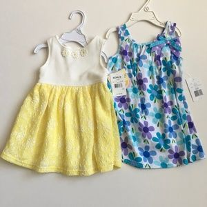 24 Mo Toddler Girl's Dresses NWT